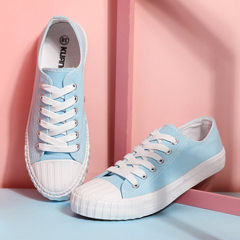 Young Classic Canvas Sneakers Casual Flat Shoes
