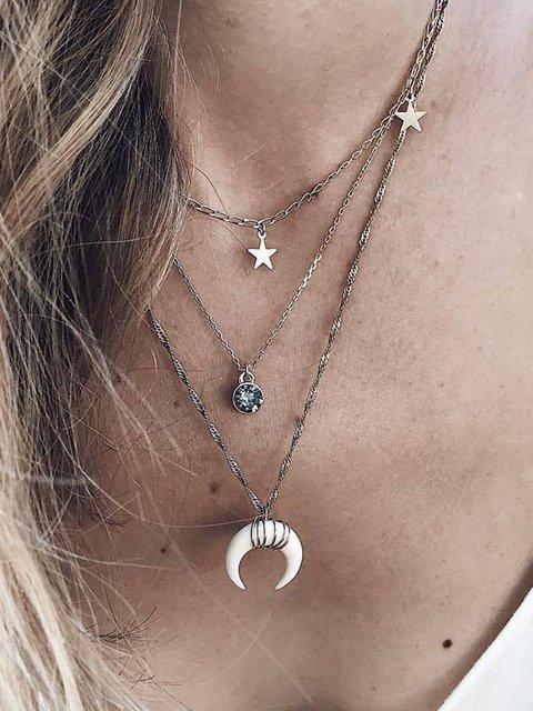 Stars Multi-Layer Boho Bohemian Hippy Gypsy Necklaces