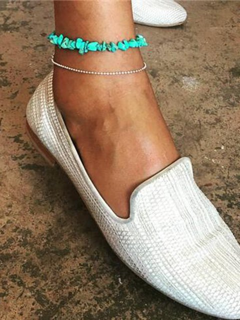 Fashion Personality Popular Turquoise Female Anklets
