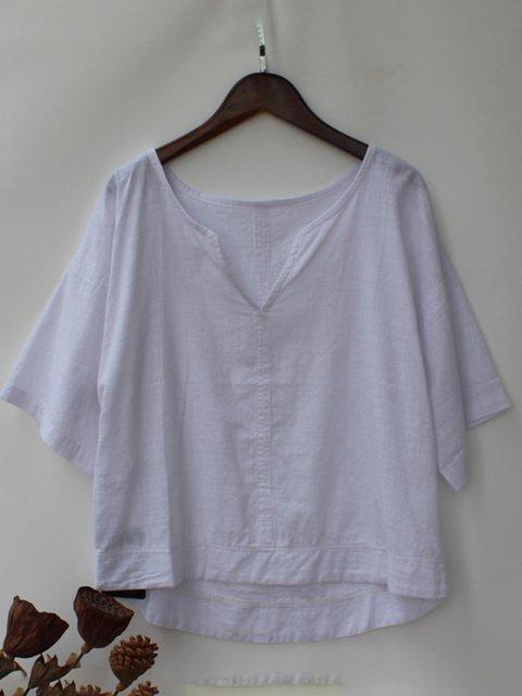 Womens Clothing Casual Paneled Shirts