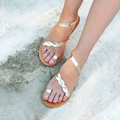 Slip On Toe Ring Flip Flops Sandals Summer Dress Shoes