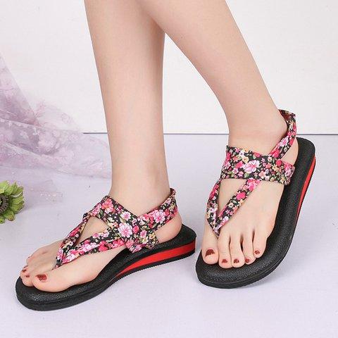 Slip-On Flip-flops Summer Beach Shoes Women's Sandals