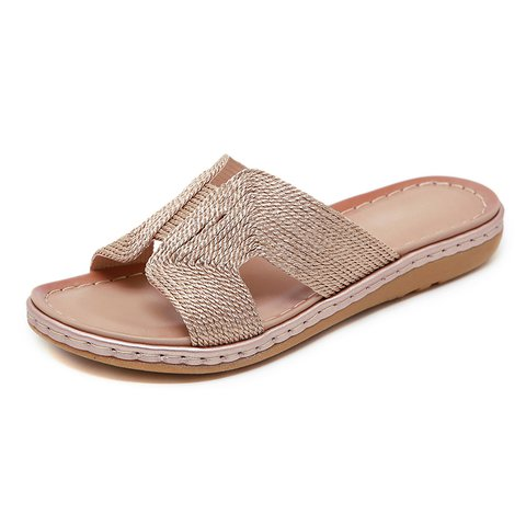 Women Chic Outdoor Slide Sandals Casual Shoes