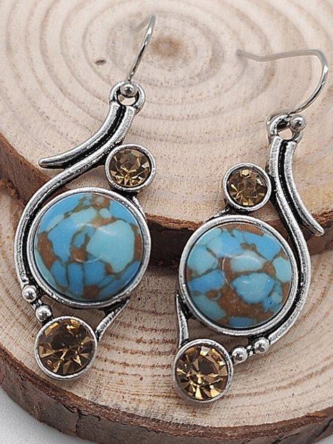Women's Vintage Luxury Earrings Rhinestones Earrings
