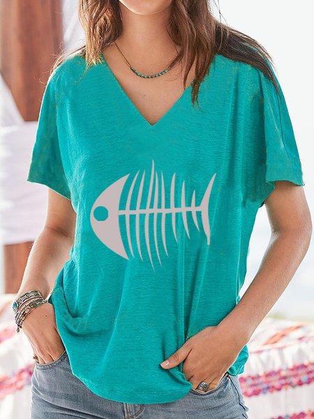 Cotton Short Sleeve Shirts T-shirts