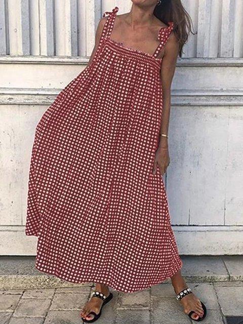 09ddc8f8ccbc7 Justfashionnow Plus Size Women Dreeses Plaid Dresses Summer Dresses ...