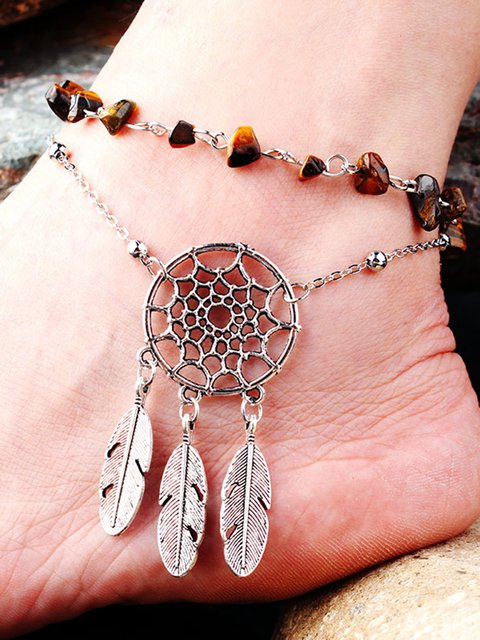 Womens Alloy Vintage Anklets