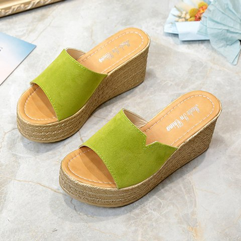 Women's Wedge Slide Sandals Comfortable Shoes
