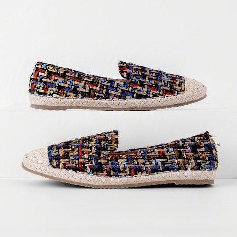 Bohemian Flat Bottom Comfortable Fisherman Shoes