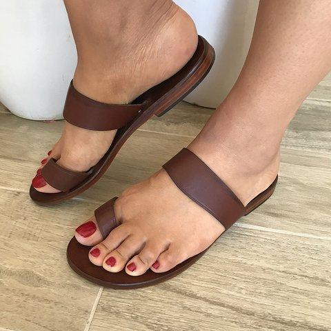 Boho Flip-flops Sandals Unisex Toe Loop Flat Heel Sandals