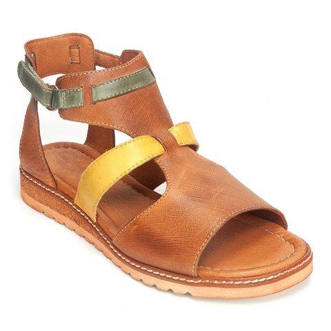 Magic Tape Ankle Strap Sandals Open Toe Summer Sandals