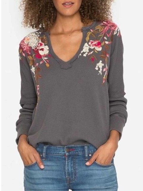 Women  Loose Casual Tops