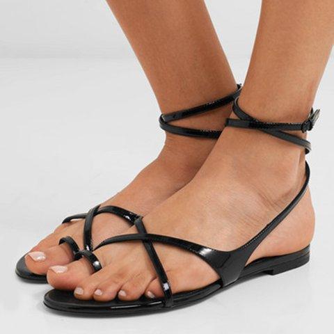 Women Date Summer Flat Heel Sandals