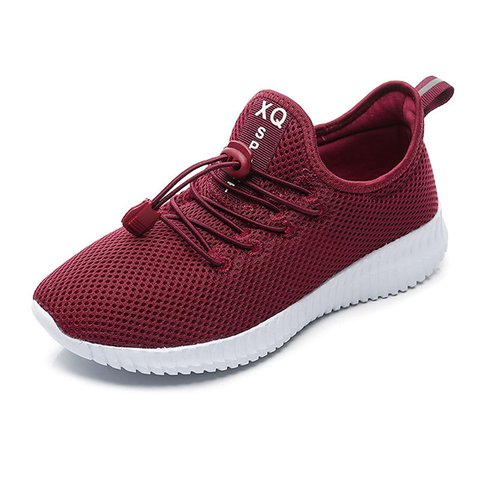 Platform Athletic  Fly-Woven Fabric Sneakers