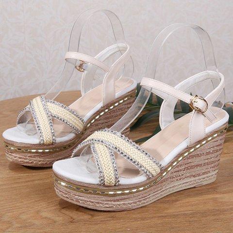 Chic Summer Platform Wedge Sandals