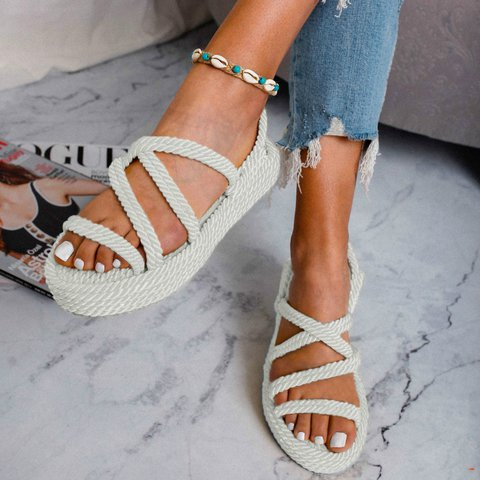 Wedge Heel Summer Sandals