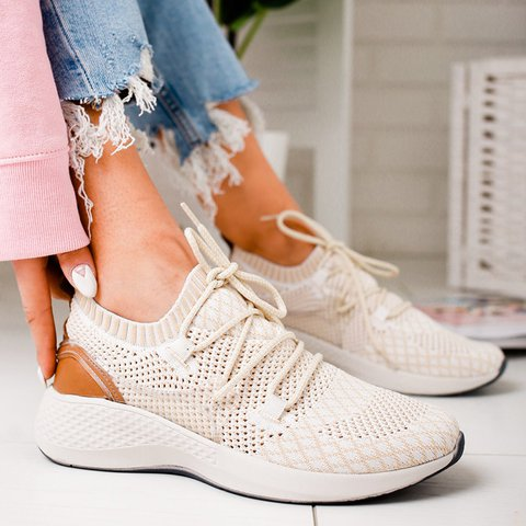 Women Breathable Athletic Sneakers