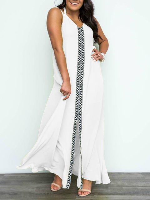 V Neck Women Dresses Shift Daily Casual Dresses