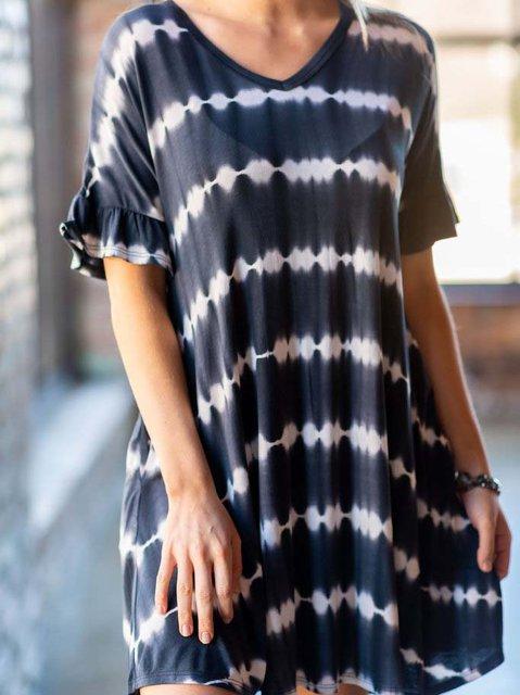 Ombre Tie dye Dress