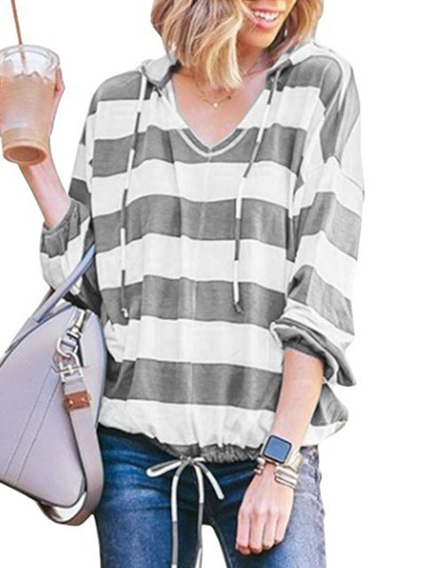 Striped Halter Casual Shirts & Tops