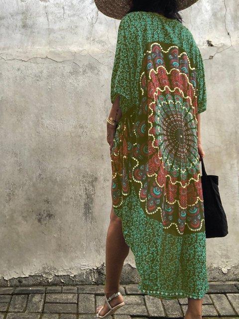 light Summer cardigan, Beach cover up,Elegant evening kimono jacket ,Curise trip, bohemian, gyspy,loose fit