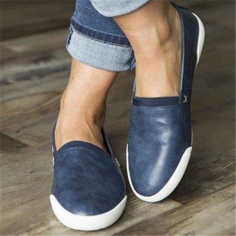 Women Casual Outdoor Flat Sneakers Slip On Shoes