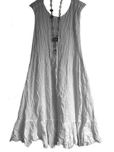 cbc57a05d Justfashionnow Summer Dresses 1 Sundress Daytime Shift Crew Neck Gradient Casual  Sleeveless Dresses