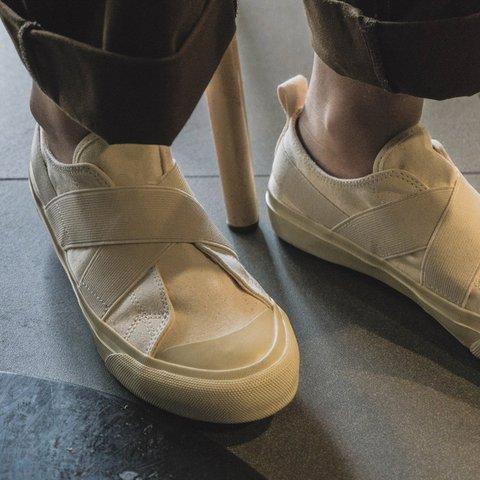 Women Crisscross Round Toe Flat Slip On Sneakers