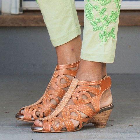 Women Casual Summer Hollow-Out Sandals