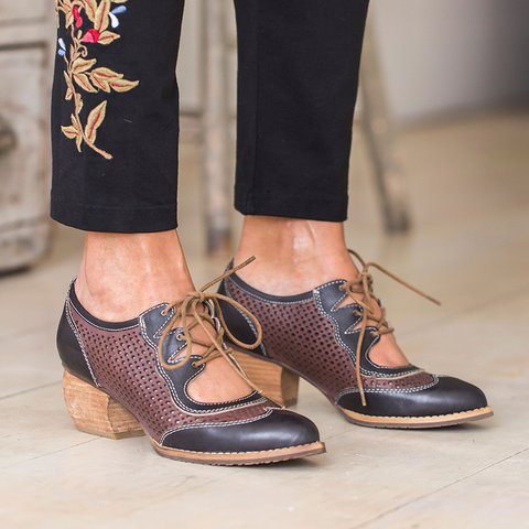 Women Lace-Up Daily Summer Boots