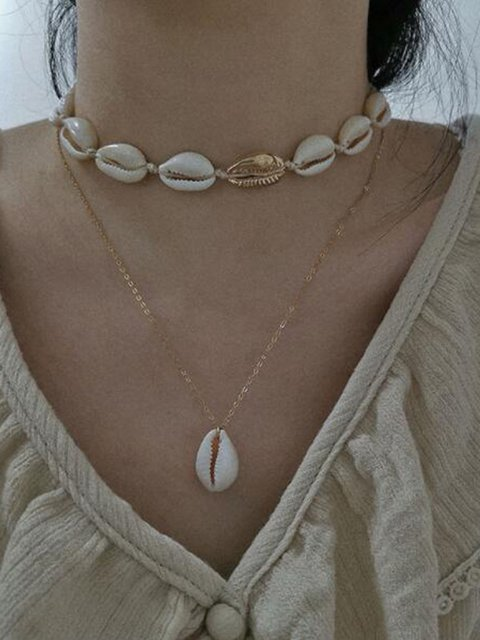 Women's Shell Personality Necklaces