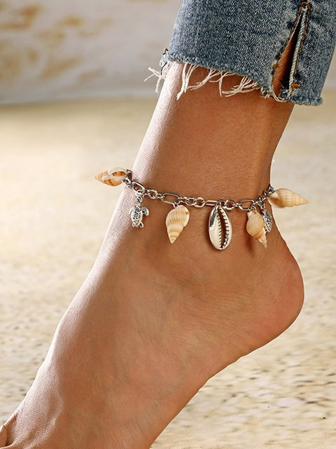 Women's Fashion Shell Anklets
