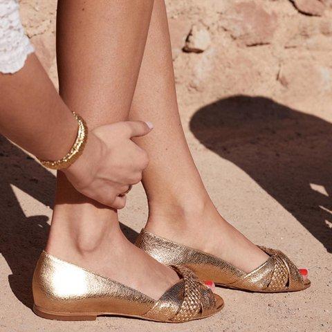 Women Comfy Slip-on Loaf Sandal Shoes