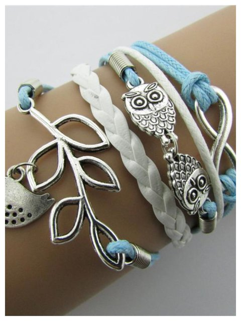 Vintage Multi-layer Alloy Jewelry Women Bracelet