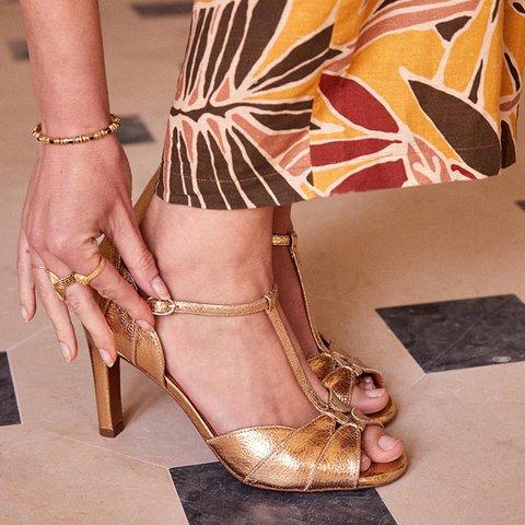Women Casual Summer Adjustable Buckle Peep Toe Sandals