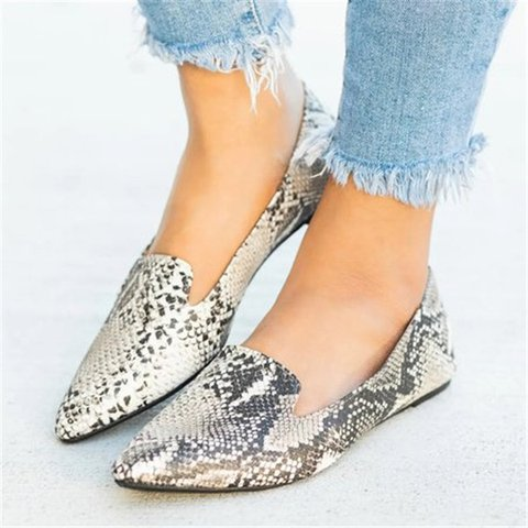 Women Comfy Slip On Flat Loafers