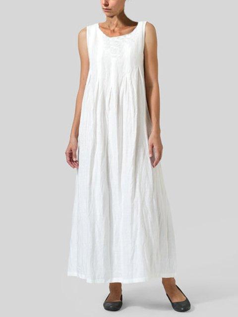 Casual Round Neck Dresses