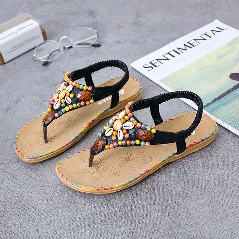 Women's Casual Rhinestone Summer Sandals