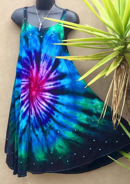 V Neck Vintage Sleeveless Dresses