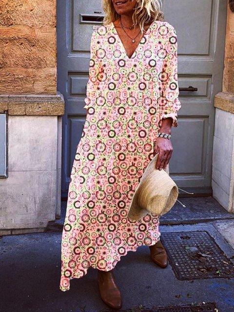Women Plain Casual Dresses