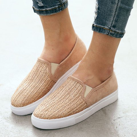 Comfy Slip-on Flat Loafers Sneakers