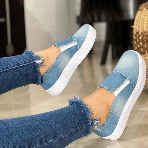 Canvas Sneaker Women Casual Slip-On All Season Shoes