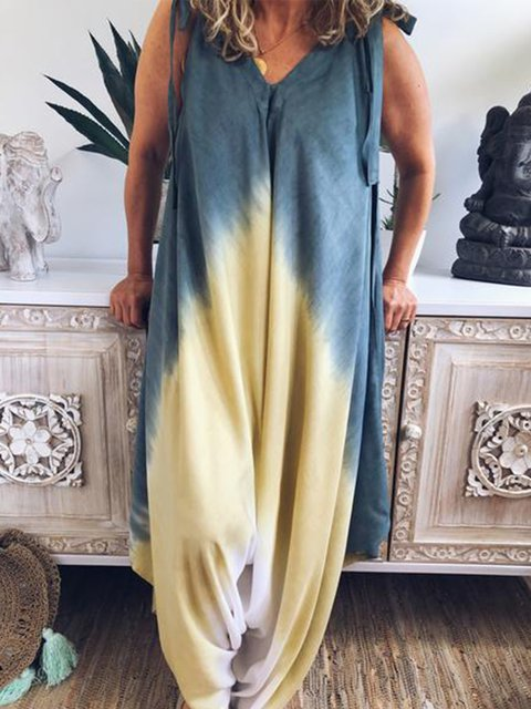 Women Casual Loose Jumpsuit Pantsuit