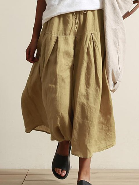 Paneled Solid Ruched Holiday Pants