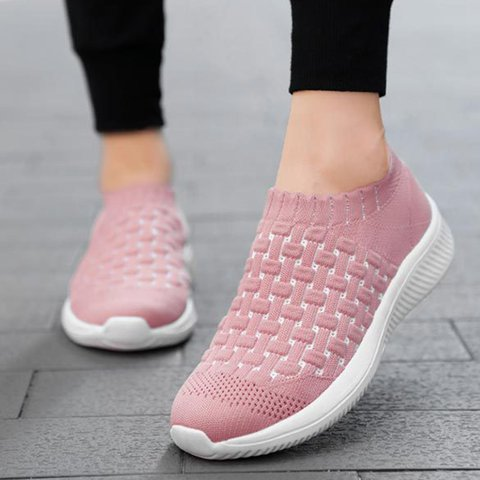 Breathable Comfy Slip On All Season Sneakers