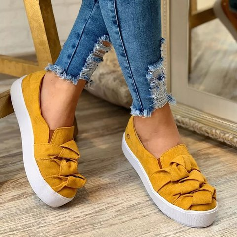 Plus Size Slip On Athletic Sneakers