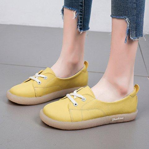 Women Sweet Slip-On Flat Shoes Sneakers