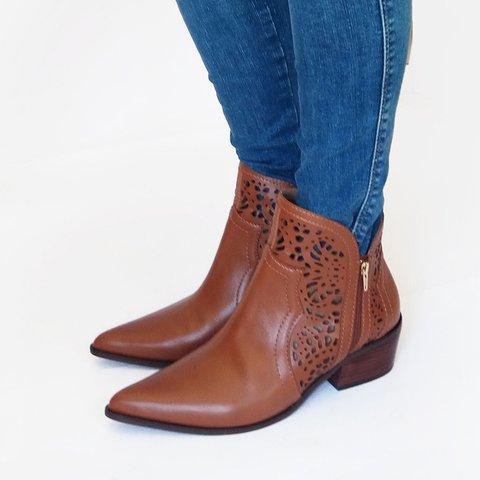 Women  Fall Elegant Zipper Slip-On Ankle Boots