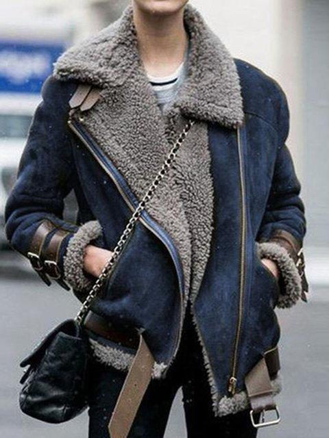 Plus Size Shawl Collar Women 2019 New Warm Jackets