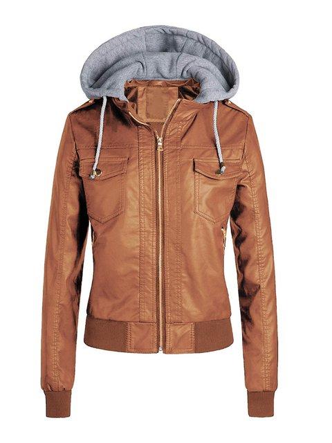 Hat Solid Jacket Coat Top